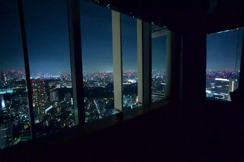 ザ・リッツ・カールトン・スイート53階からの夜景