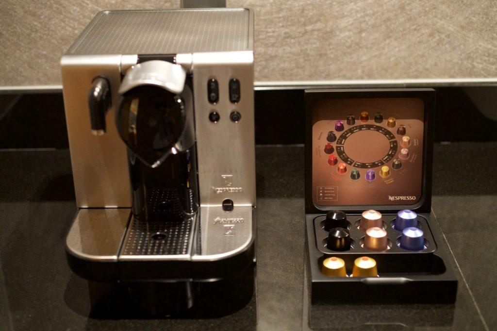 リッツカールトンスイートのコーヒー