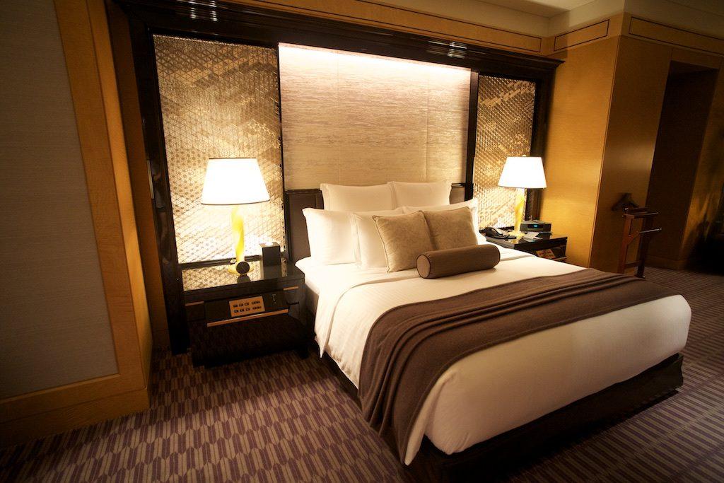 リッツカールトン東京のザ・リッツ・カールトン・スイートのベッドルーム写真